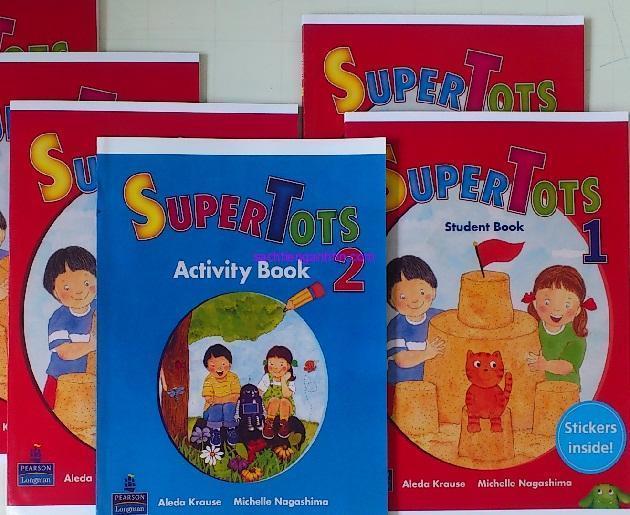 sách giáo trình supertots 1