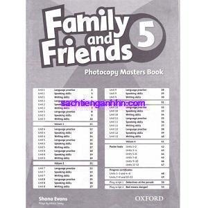 Family and Friends 5 Photocopy Masters Book