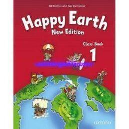 Happy Earth 1 Class Book New Edition