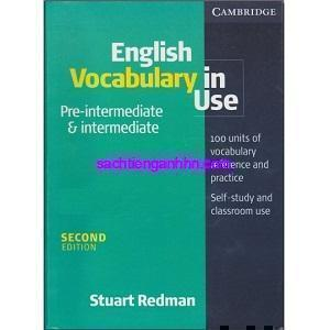 English Vocabulary in Use Pre-Intermediate & Intermediate bia 1