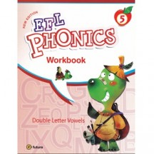 New EFL Phonics 5 Double Letter Vowels Workbook