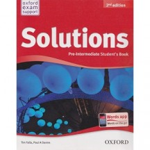 Solutions Pre-Intermediate Student's Book 2nd edition