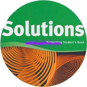 Solutions Elementary Student's Book 2nd Class CD2