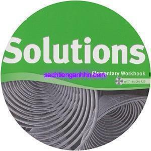 Solutions Elementary second editionWorkbook Audio CD