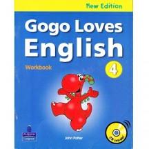 Gogo Loves English 4 workbook new edition
