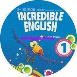 2nd editon Incredible English 1 Audio Class CD1