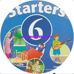 Cambridge Starters 6 CD Audio