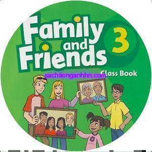 Family and Friends 3 Class CD MultiROM