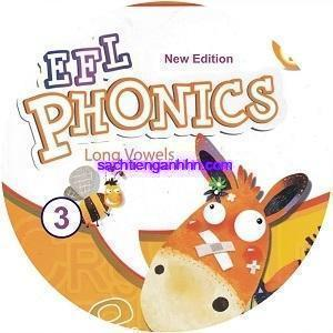 New EFL Phonics 3 Long Vowels Audio CD