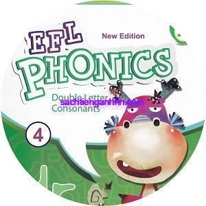 New Efl Phonics 4 Double Letter Consonants CD Audio
