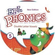 New EFL Phonics 5 Double Letter Vowels CD Audio
