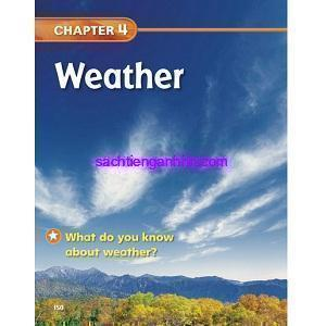 California Science 1 chapter 4 - Weather ebook