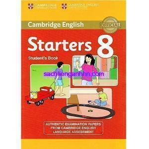 Cambridge Starters 8 Student Book