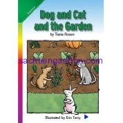 Dog and Cat and the Garden