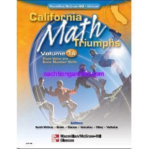 California Math Triumphs 1A Place Value and Basic Number Skills