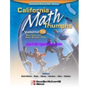 California Math Triumphs 1B Place Value and Basic Number Skills