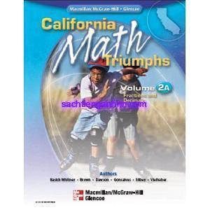 California Math Triumphs 2A Fractions and Decimals