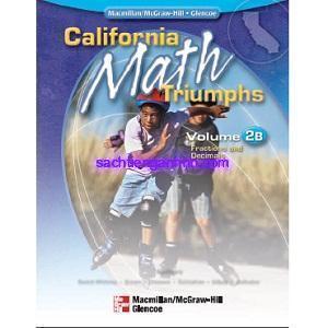 California Math Triumphs 2B Fractions and Decimals