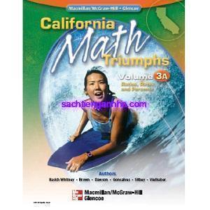 California Math Triumphs 3A Ratios, Rates, and Percents