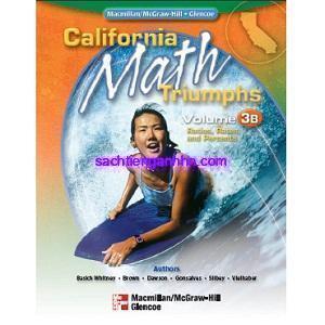 California Math Triumphs 3B Ratios, Rates, and Percents