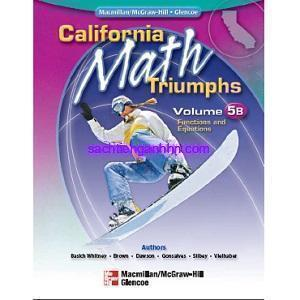 California Math Triumphs 5B Functions and Equations