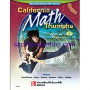 California Math Triumphs 6A Measurement