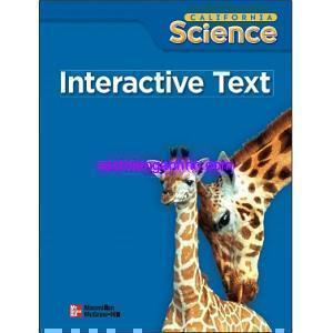 California Science Grade 2 Interactive Text