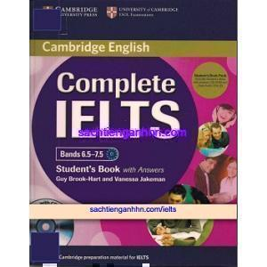 Complete IELTS Bands 6.5 to 7.5 Student Book