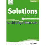 Solutions Elementary 2nd Teacher Book