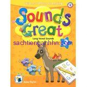 Sách giáo trình phonics Sounds Great 3 Long Vowels Sounds