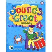 Sách giáo trình phonics Sounds Great 4 Double-Letter Consonant Sounds