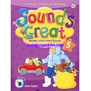 Sách phonics Sounds Great 5 Double-Letter Vowel Sounds