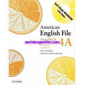 Ametican English File 4A Student Book - Workbook