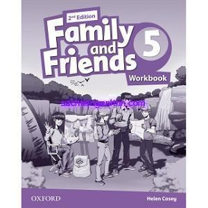 Family and Friends 5 2nd Workbook pdf download