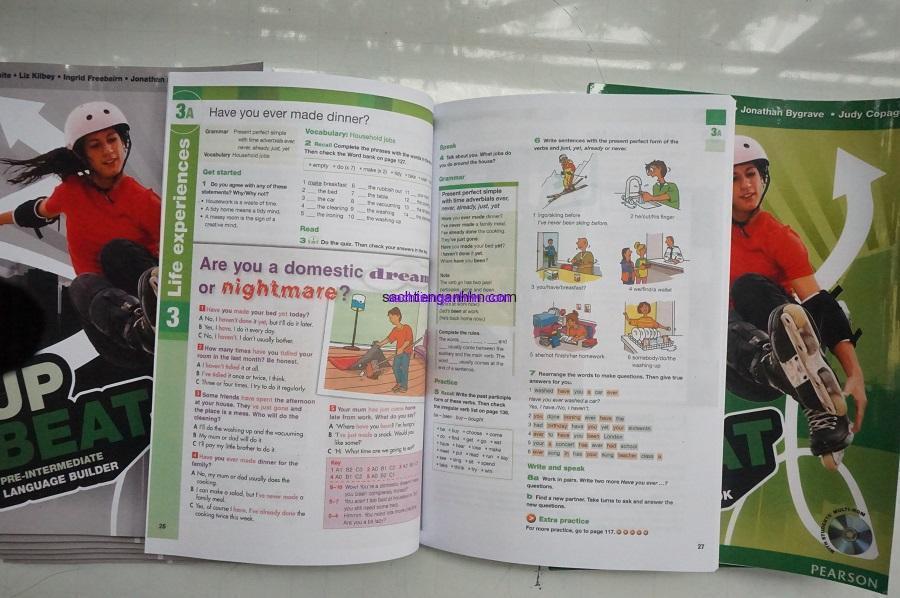 Upbeat Pre-Intermediate Student Book 2