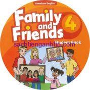 Family and Friends 4 American Edition Class Audio CD