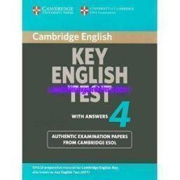 Cambridge Key English Test 4 (KET 4) ebook pdf