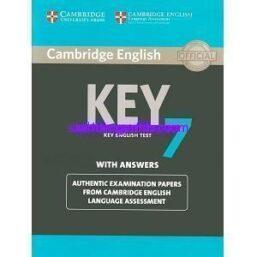 Cambridge Key English Test 7 (KET 7) pdf ebook
